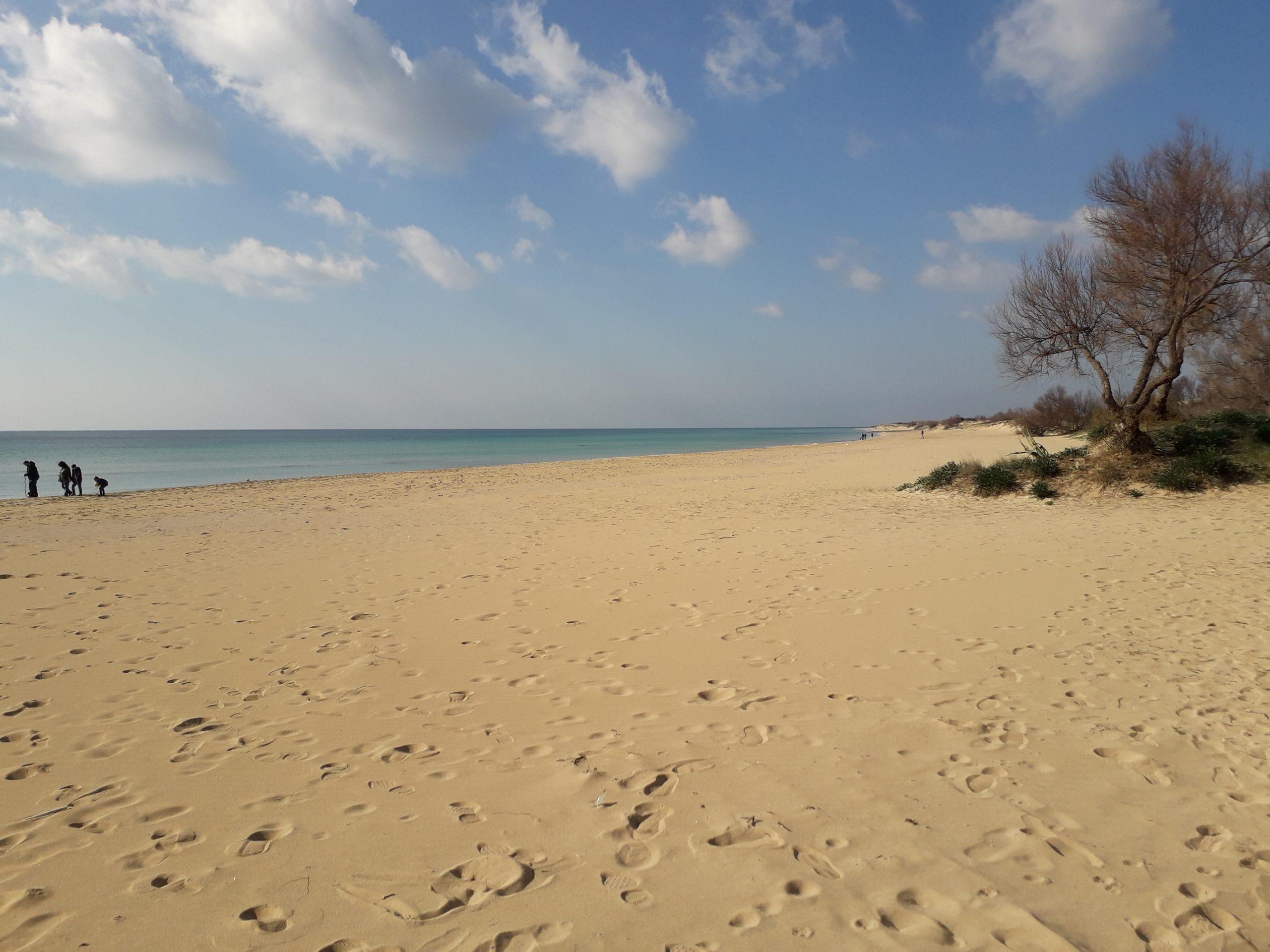 Spiaggia in Salento